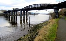 Blaydon, Scotswood Railway Bridge, County Durham © Andrew Curtis